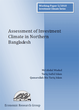 Assessment of Investment Climate in Northern Bangladesh