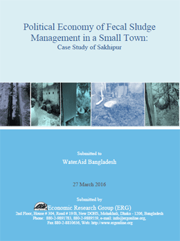 Political Economy of Fecal Sludge Management in a Small Town: Case Study of Sakhipur