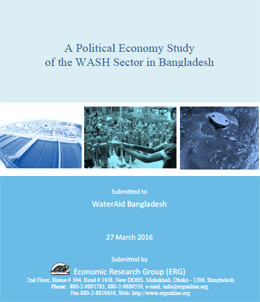 A Political Economy Study of the WASH sector in Bangladesh