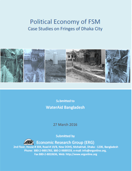 Political Economy of FSM Case Studies on Fringes of Dhaka City