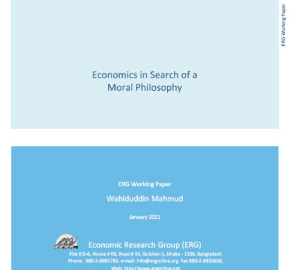 Economics in Search of a Moral Philosophy